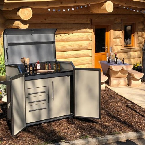 120 cm Outdoor kitchen Tirol